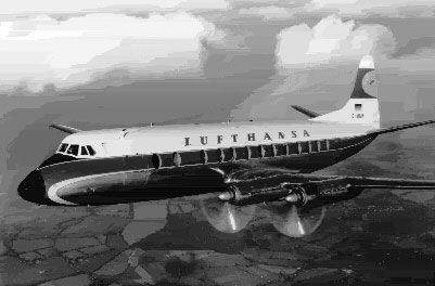 Foto Lufthansa - Vickers 814 Viscount